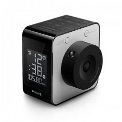 Radio-réveil Philips LCD FM Digital Noir