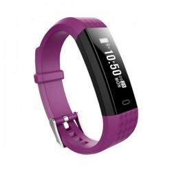 Bracelet d'activités BRIGMTON SPORT Bluetooth 4.0 Violet