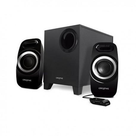 Haut-parleurs de PC 75 DB Noir