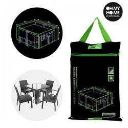 Housse Imperméable pour Table et Chaises de Jardin