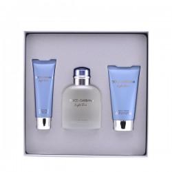 Set de Parfum Homme Light Blue Dolce & Gabbana (3 pcs)