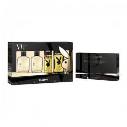 Set de Parfum Homme Vip Him For Playboy (4 pcs)
