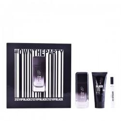Set de Parfum Homme 212 Vip Black Carolina Herrera (3 pcs)