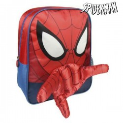 Sac à dos enfant Spiderman 3D Rouge