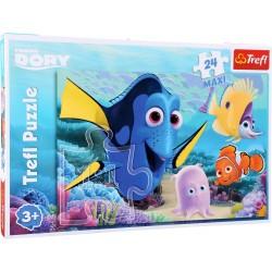 Puzzle le monde de Dory 24 pièces (+3 ans)