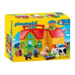 Playmobil Ferme transportable avec animaux (+18 mois)