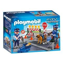 Playmobil Barrage de police (+4 ans)