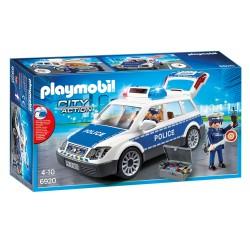 Playmobil Patrouille de la police avec son et lumière (+4 ans)