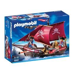 Playmobil Chaloupe avec soldats