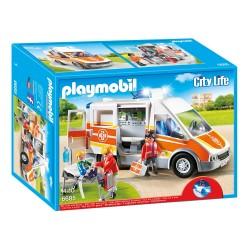 Playmobil Ambulance avec gyrophare et sirène