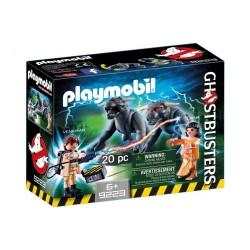 Playmobil Ghostbusters Venkman contre les chiens démoniaques
