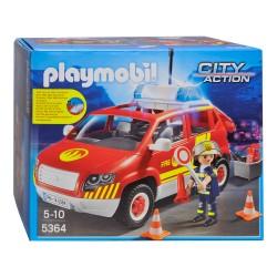 Playmobil Véhicule d'intervention avec sirène
