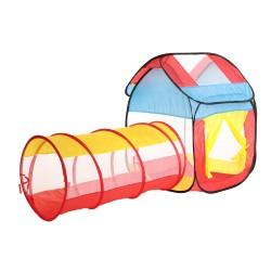 Tente tunnel d'activité pour enfant (+3 ans)