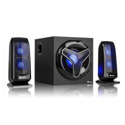 Haut-parleurs pour jeu 2.1 NGS Bluetooth 80W Noir