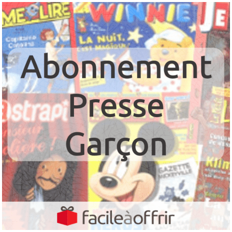 Abonnement Presse Garçon