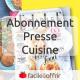 Abonnement Presse Cuisine