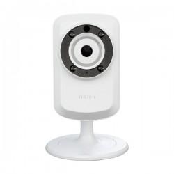 Caméra IP D-Link IR Wifi Blanc