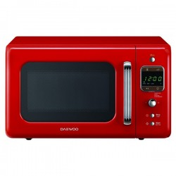 Micro-ondes rétro Daewoo 20 L 800W Rouge