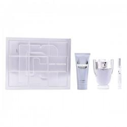 Set de Parfum Homme Invictus Paco Rabanne (3 pcs)