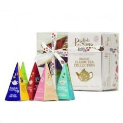 Coffret de 12 sachets pyramides de thés et d'infusions bio - Coffret 12 sachets