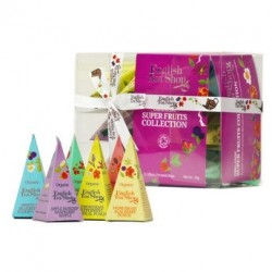 Coffret super fruits de 12 sachets pyramides - Coffret 12 sachets