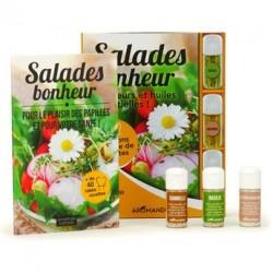 Coffret dégustation salades aux fleurs et huiles essentielles