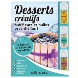 Coffret desserts créatifs aux fleurs et huiles essentielles