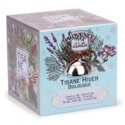 Tisane Hiver bio - Boite métal 24 sachets nylon