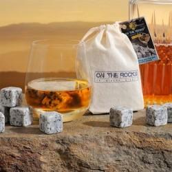 Pierres à whisky en granit clair du Sidobre - Sachet 10 pierres