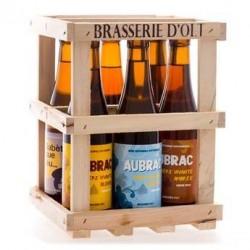 Coffret de 6 bouteilles de bière Brasserie d' Olt - Coffret 6x33cl