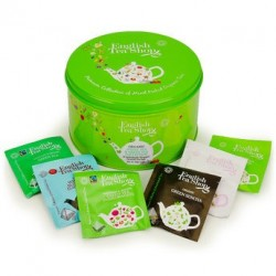 Coffret collection de thés verts et blancs bio (30 sachets)