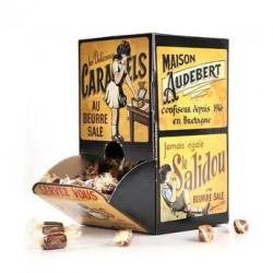 Caramels tendres au beurre salé - Boite distributrice collector - Boite 1kg