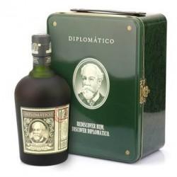 Coffret Rhum Diplomatico valise diplomatique