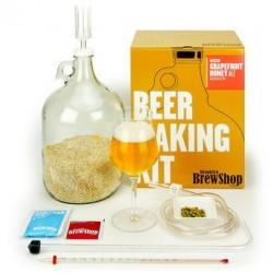 Kit de fabrication bière blonde Pamplemousse miel - 5,5%