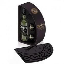 Coffret Whisky Ardbeg 10 ans - Bouteille 70cl + 1 mignonette