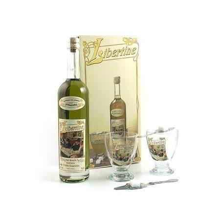 Coffret Libertine originale - Spiritueux aux plantes d'absinthe