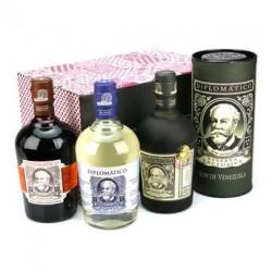 Coffret Rhum Diplomatico- 3 bouteilles 70cl