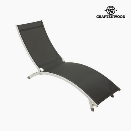 Chaise longue (180 x 55 x 25 cm) Aluminium Gris