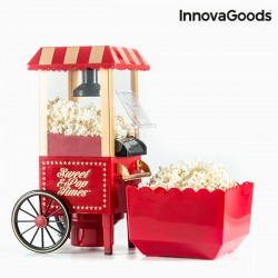 Machine à Popcorn Sweet & Pop Times 1200W Rouge