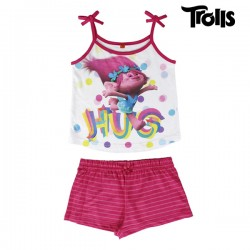 Pyjama d'Été pour Filles Trolls