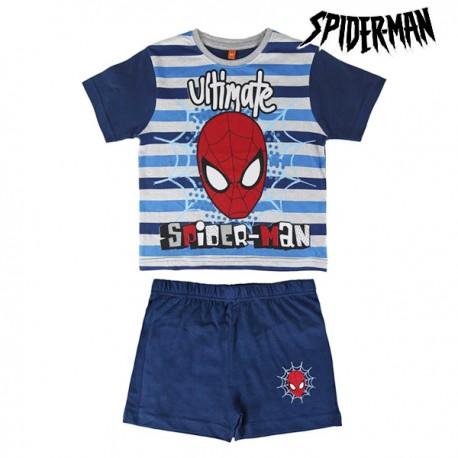 Pyjama d'été pour Enfants Spiderman