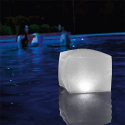 Cube LED Gonflable pour Piscine