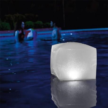 Cube LED Gonflable pour Piscine