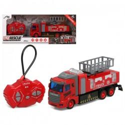 Camion de Pompiers Rescue Team Télécommandée