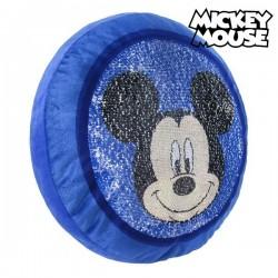 Coussin Sirène Magique en Paillettes Mickey Mouse