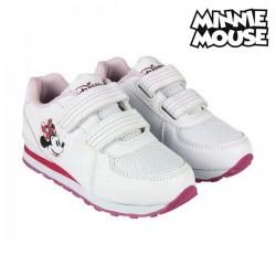 Chaussures de Sport pour Enfants Minnie Mouse Blanc