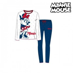Pyjama Enfant Minnie Mouse Blanc Bleu (2 Pcs)