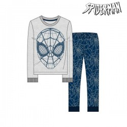 Pyjama Enfant Spiderman Gris Bleu (2 Pcs)