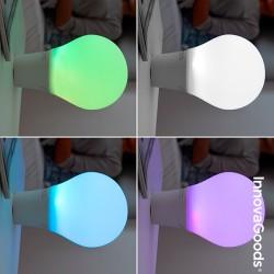 Lampe Ampoule LED Tactile en Silicone avec Haut-Parleur