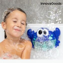 Crabe musical avec bulles de savon pour le bain Crabbly InnovaGoods